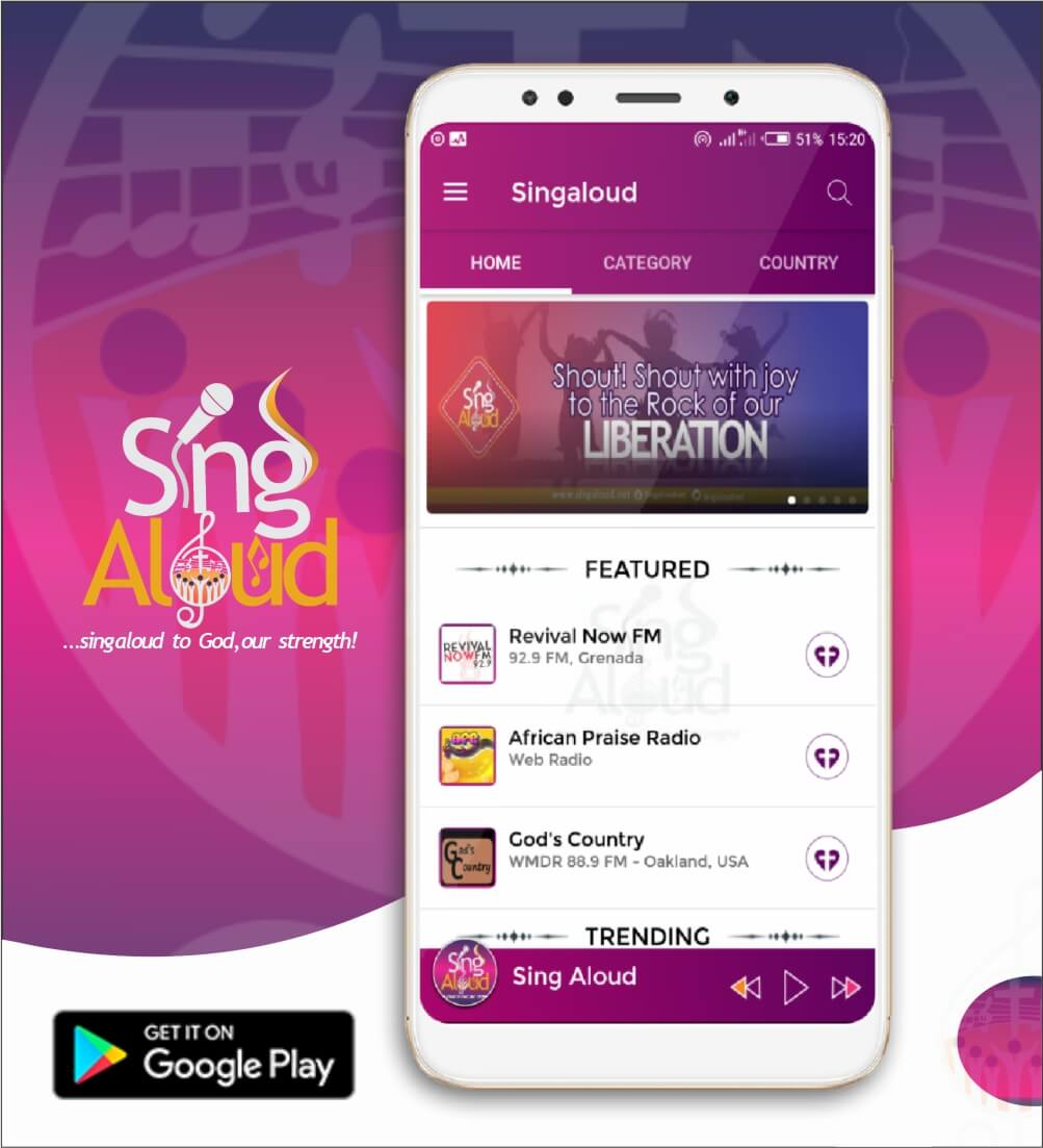 Download SingAloud App